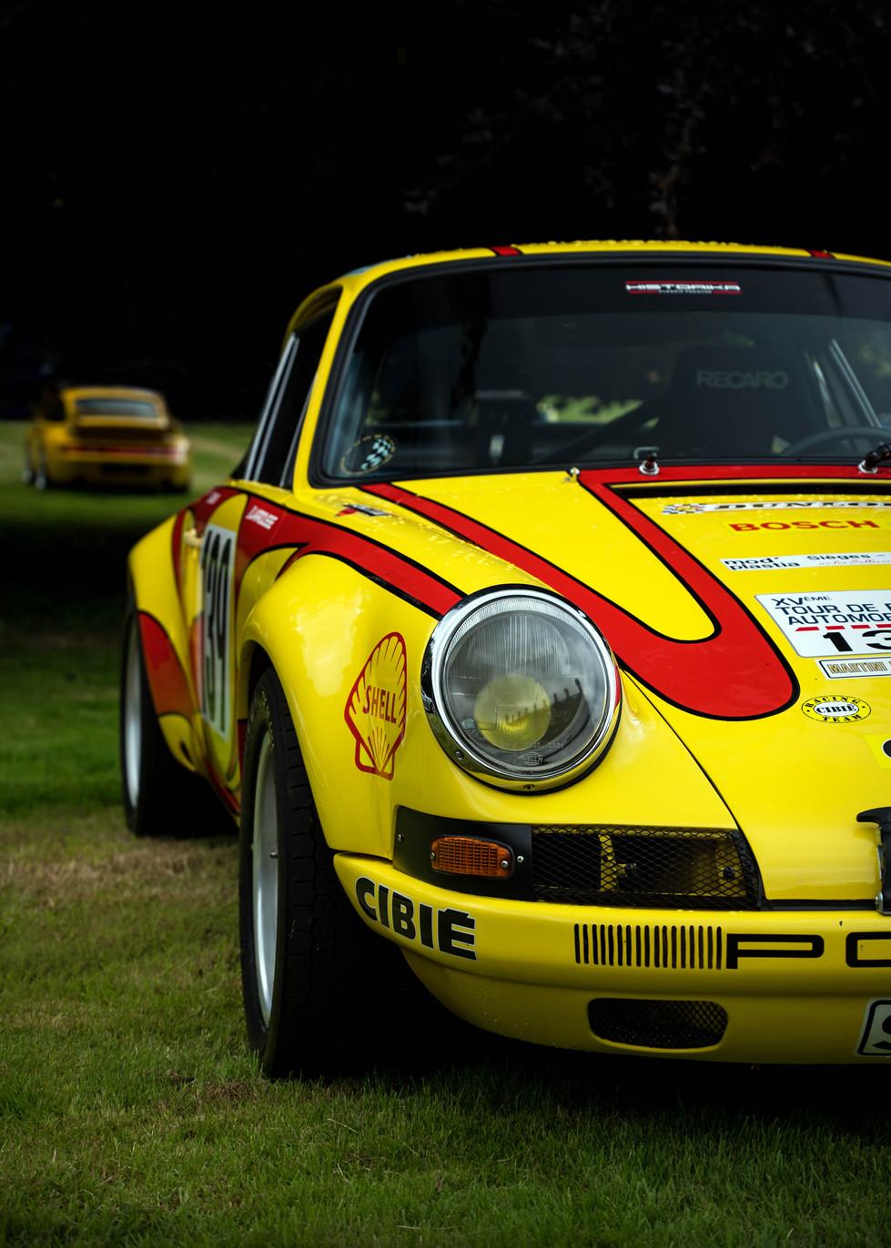 1970 Gerard Larrousse Tour de France Porsche 911