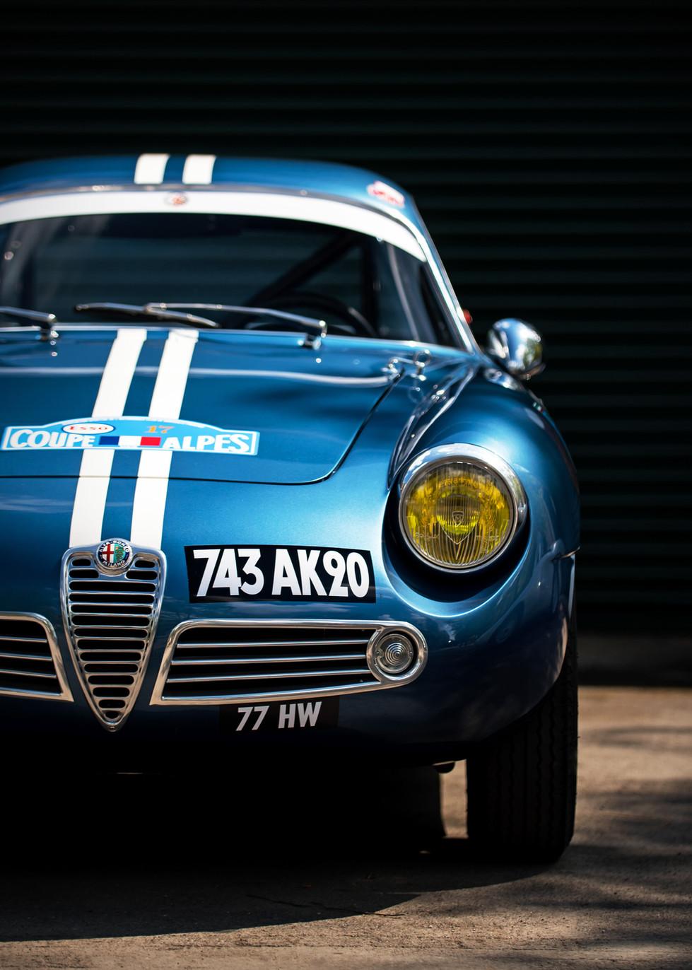 Alfa Giulietta SZ Zagato