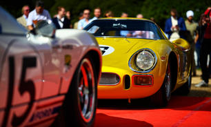 high life at the hampton court concours
