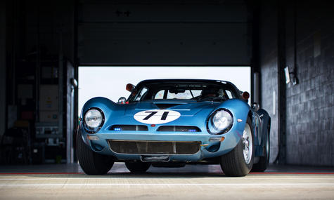 Roger Wills' 1965 Bizzarrini 5300 GT at