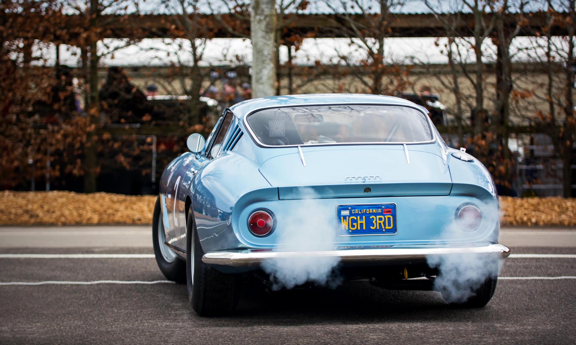 Vincent Gaye's 1966 Ferrari 275 GTB Competizione at the Goodwood 76MM