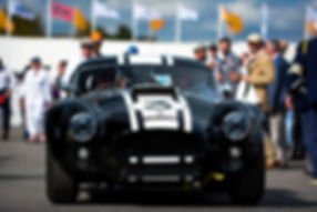 Malcolm Young's 1963 AC Cobra at the 201