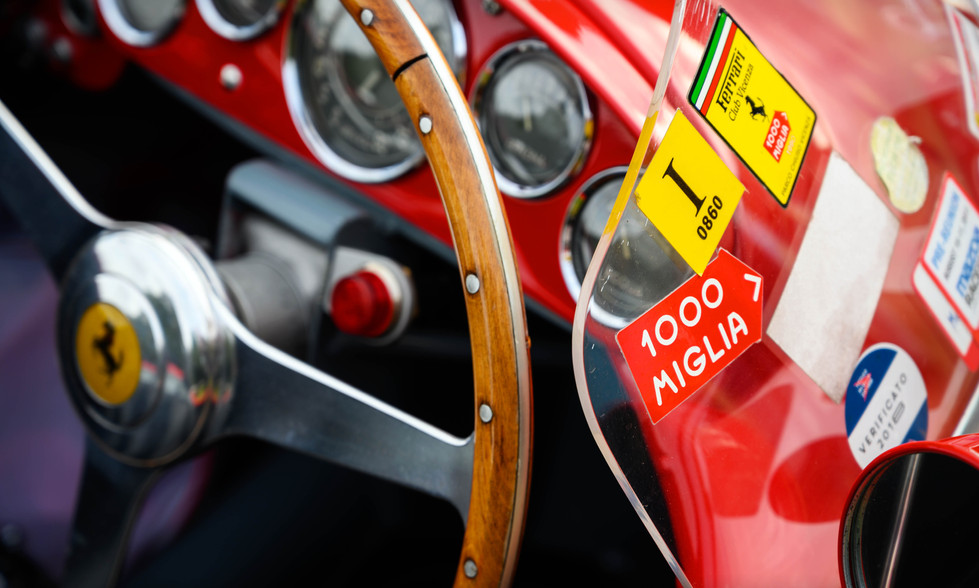 Paul Hobden's 1954 Ferrari 500 Mondial
