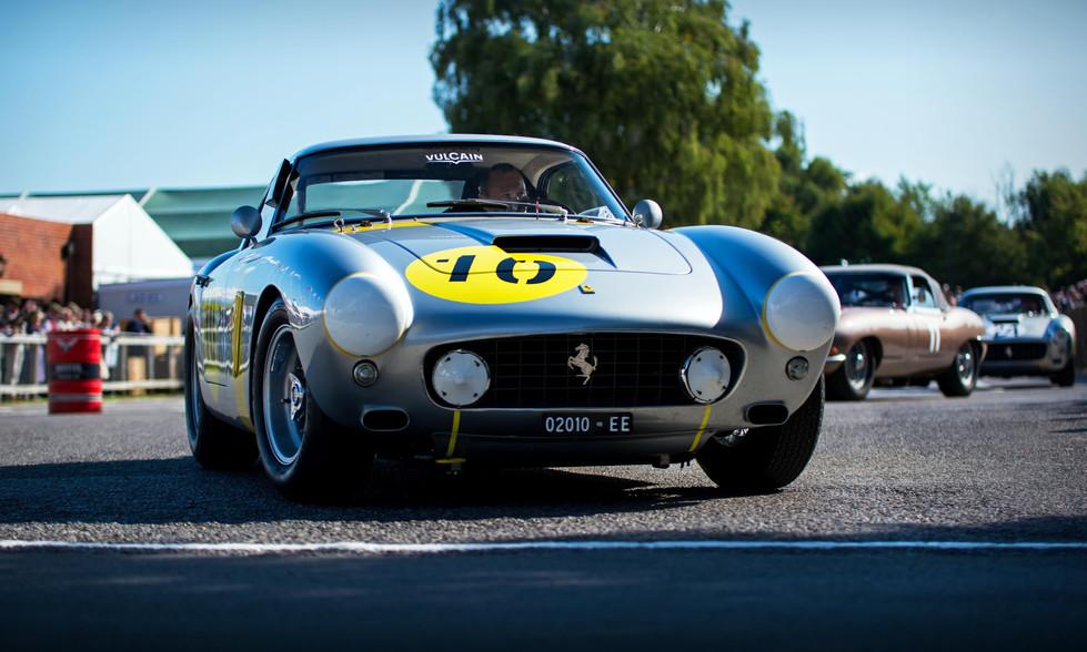 Vincent Gaye & Anthony Reid's 1960 Ferrari 250 GT SWB/C