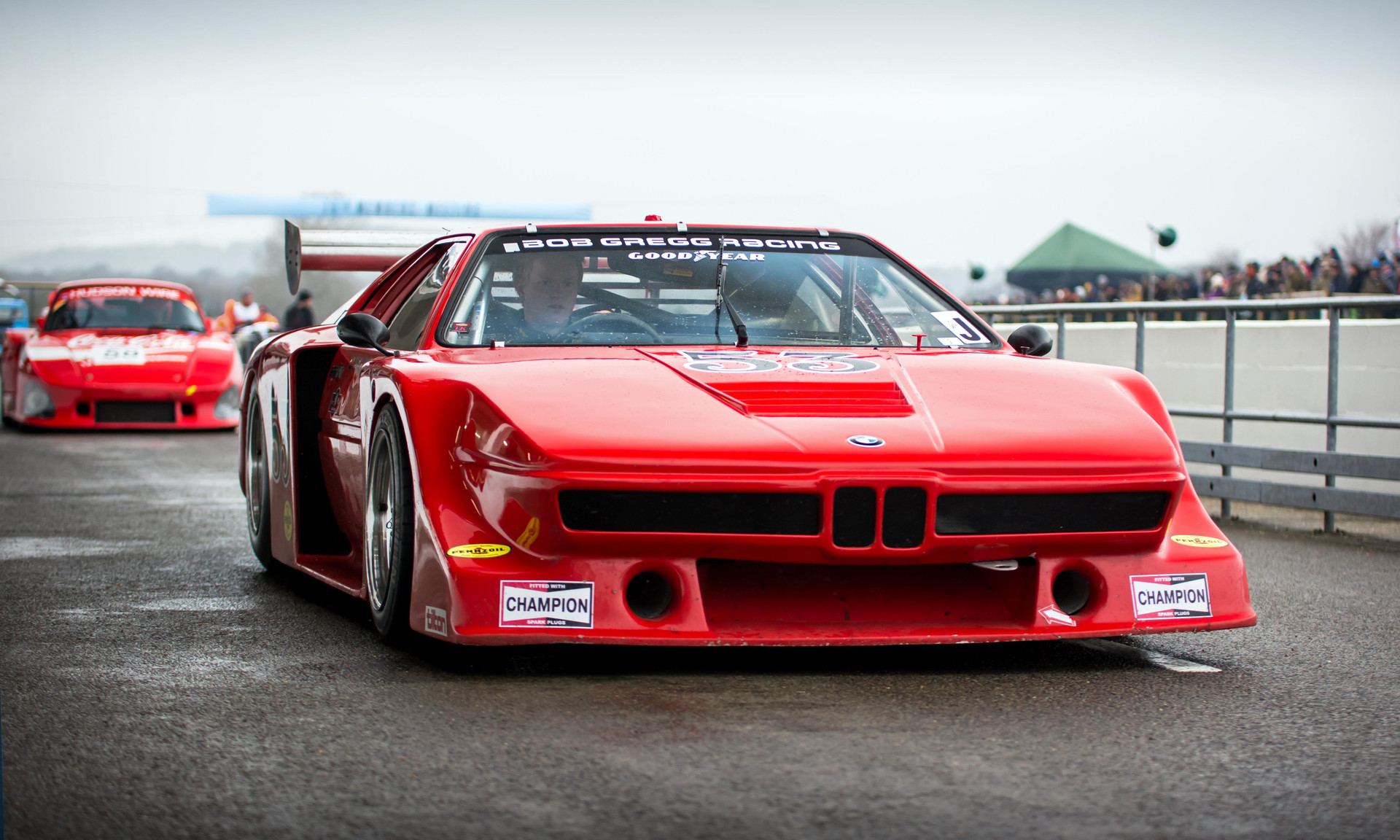 Jan Bot's 1979 BMW-March M1 at the Goodwood 76MM