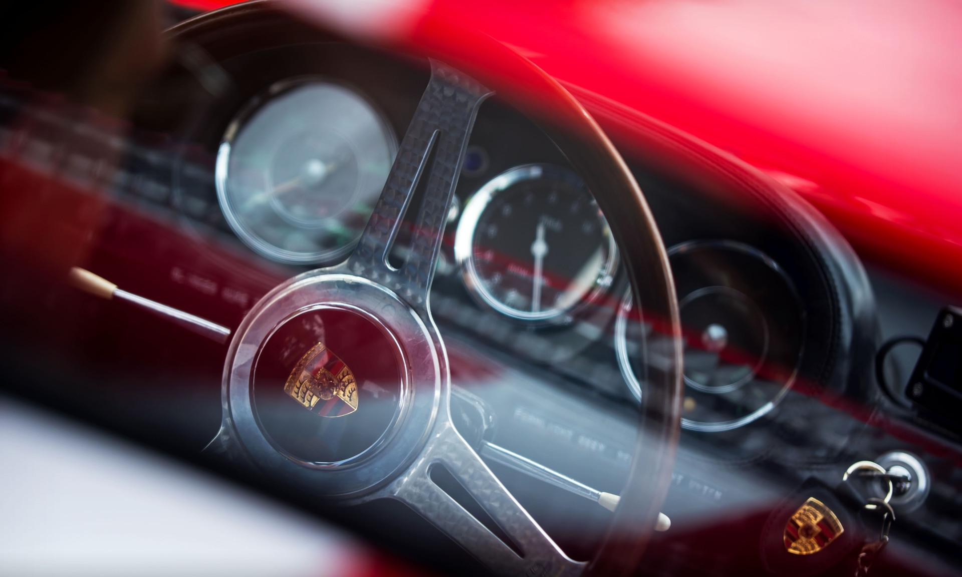 Rainer Becker & Richard Attwood's 1964 Porsche 904 Carrera GTS
