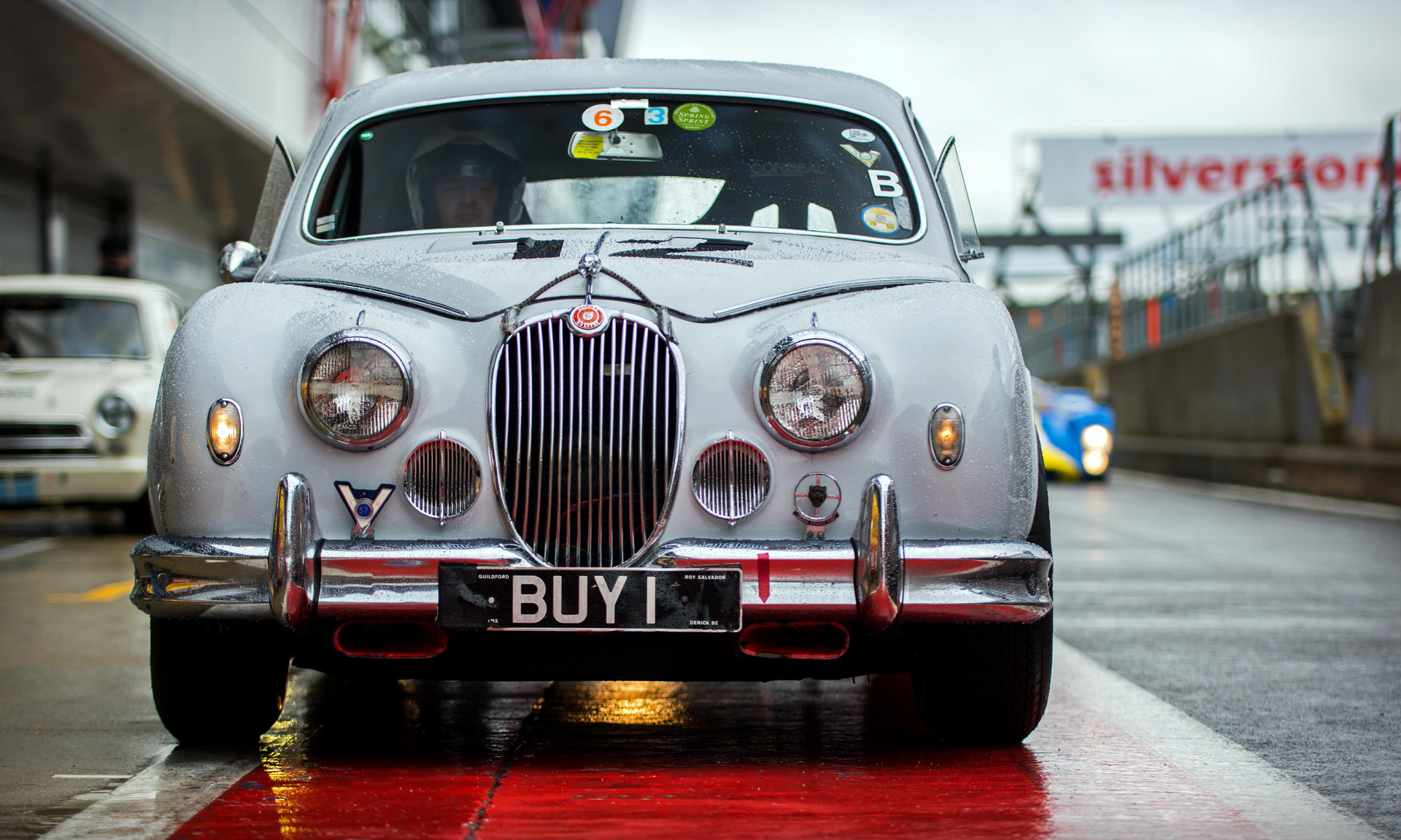BUY 1 1959 Jaguar Mk1 at the 2018 Silverstone Classic Preview Day