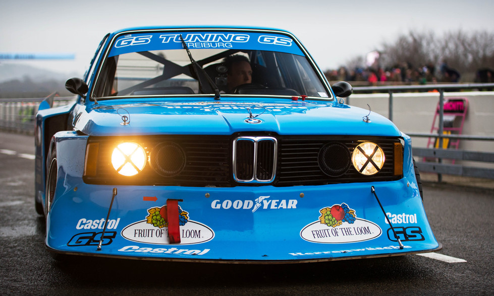1978 GS Tuning BMW 320 Group 5 at the Goodwood 76MM