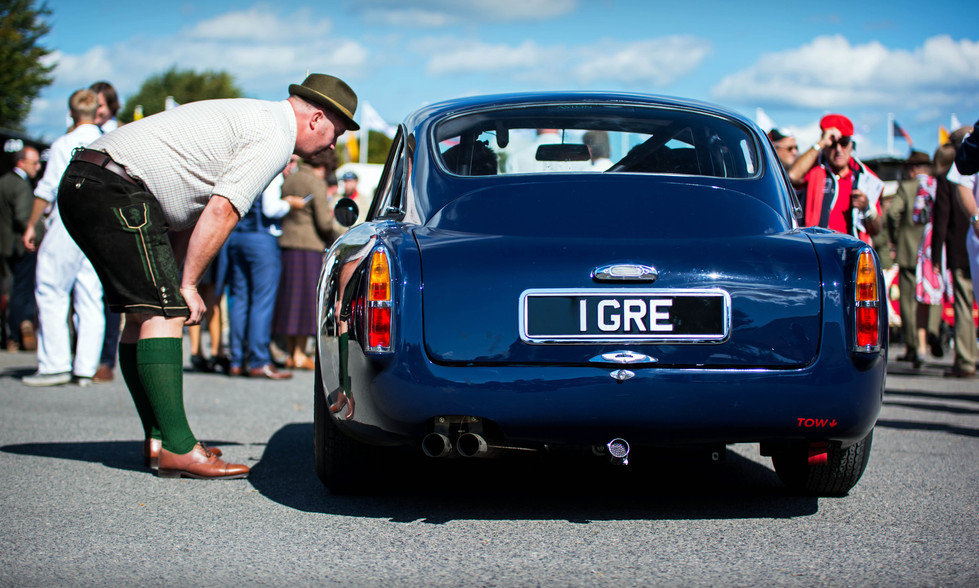 Wolfgang Friedrichs & Simon Hadfield's Aston Martin DB4 GT