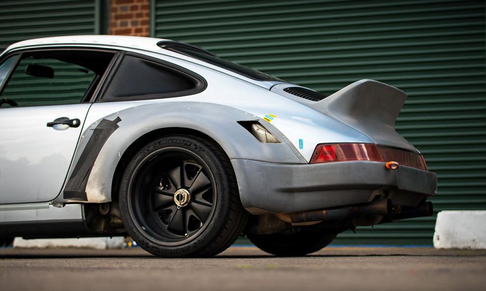 Singer Porsche 911 Williams DLS Test Mule