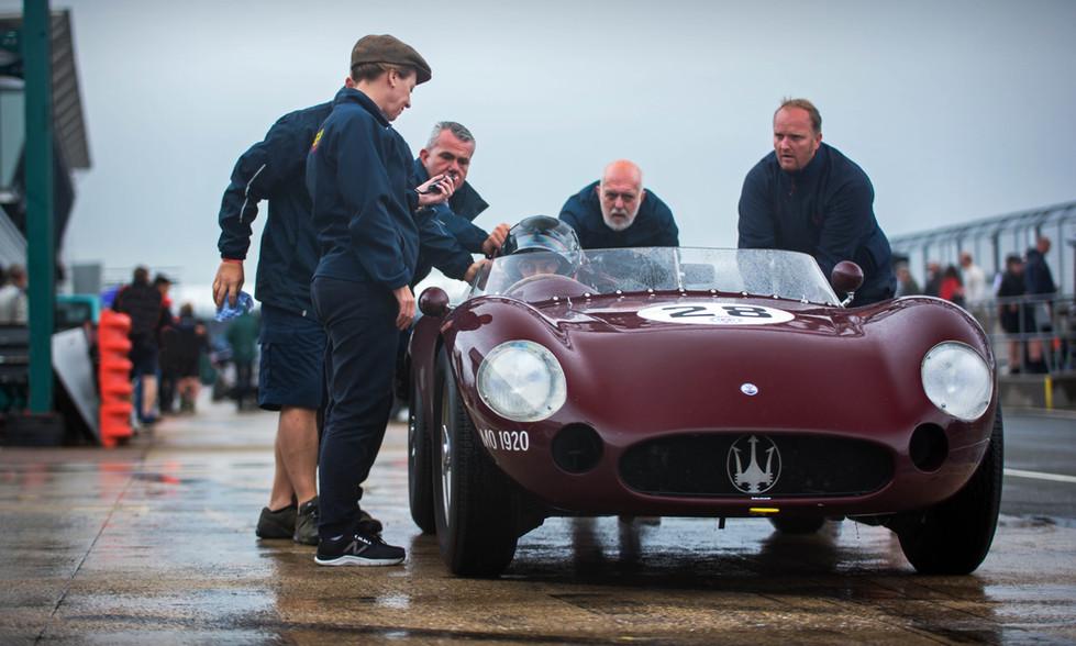 Martin Halusa's 1957 Maserati 300S