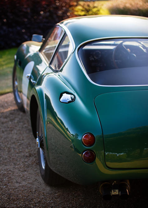 Aston Martin DB4 GT Zagato 1 VEV at the
