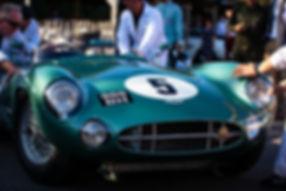 1957 Aston Martin DBR1 at the 2019 Goodw