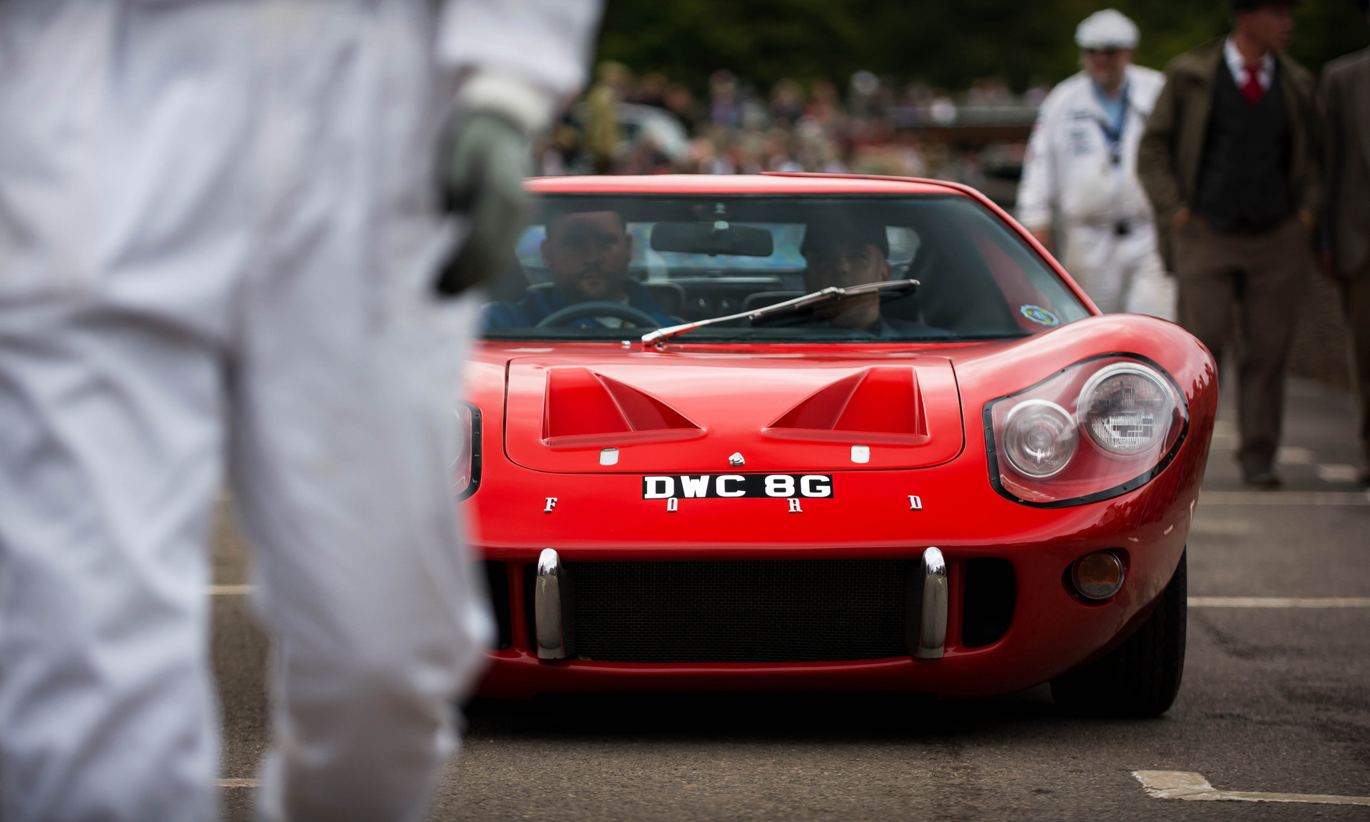 Ford GT40 Mk3 Course Car at the 2017 Goodwood Revival