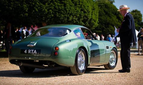1962 Aston Martin DB4 GT Zagato at the 2