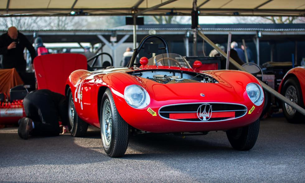 Calilo & Mathias Sielecki's 1955 Maserati A6GCS