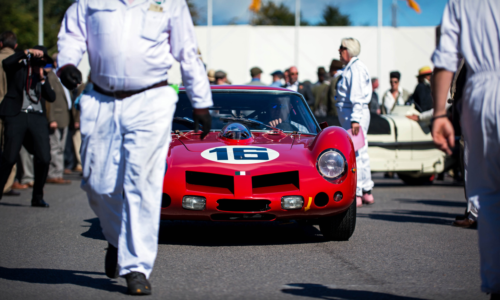 Niklas Halusa & Emanuele Pirro's 1963 Ferrari 250 GT SWB Breadvan