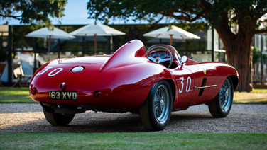 ferrari 500 mondial at hampton court