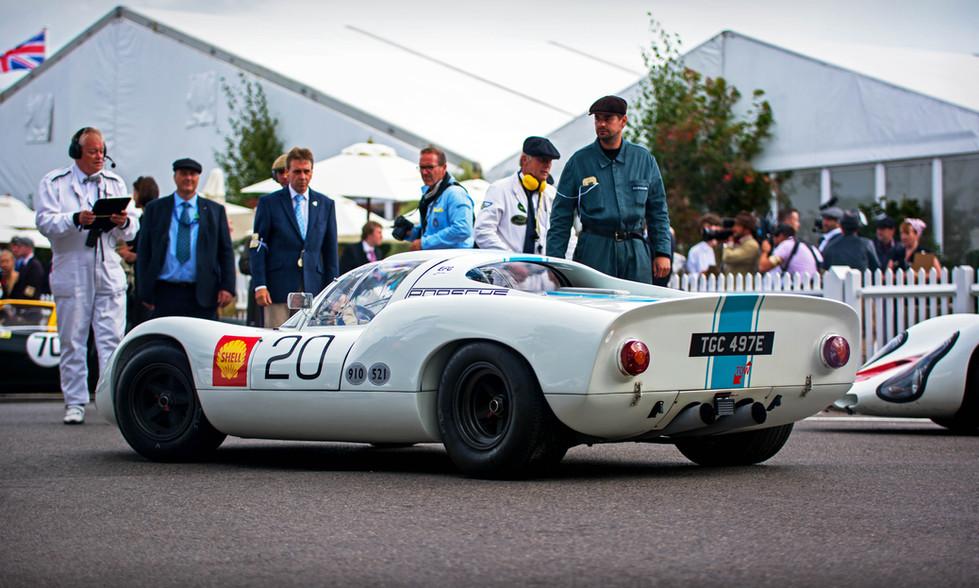 Rainer Becker's 1968 Porsche 910
