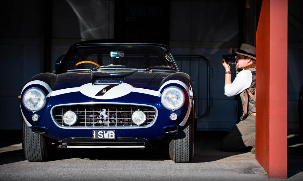 Nick Dalton shoots Clive Beecham's 1961 Ferrari 250 GT SWB/C