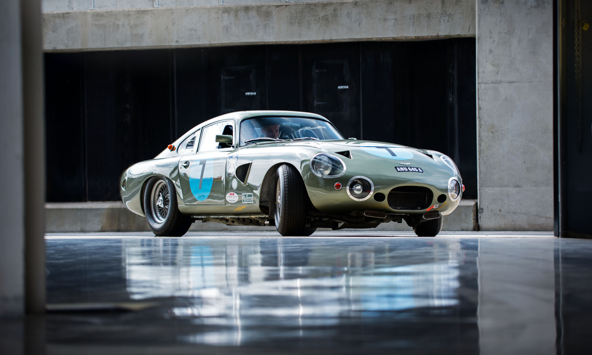 Wolfgang Friedrichs' Aston Martin DP214