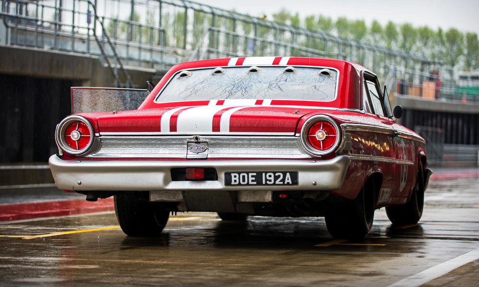 Ford Galaxie 500XL at the 2018 Silverstone Classic Preview Day