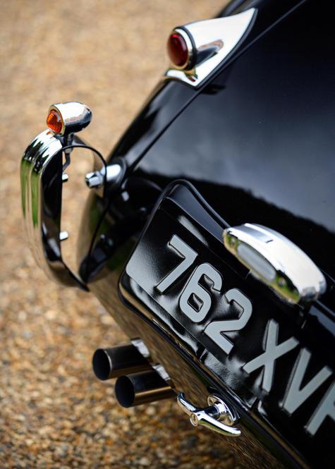 David Gandy's 1954 Jaguar XK120 at the 2