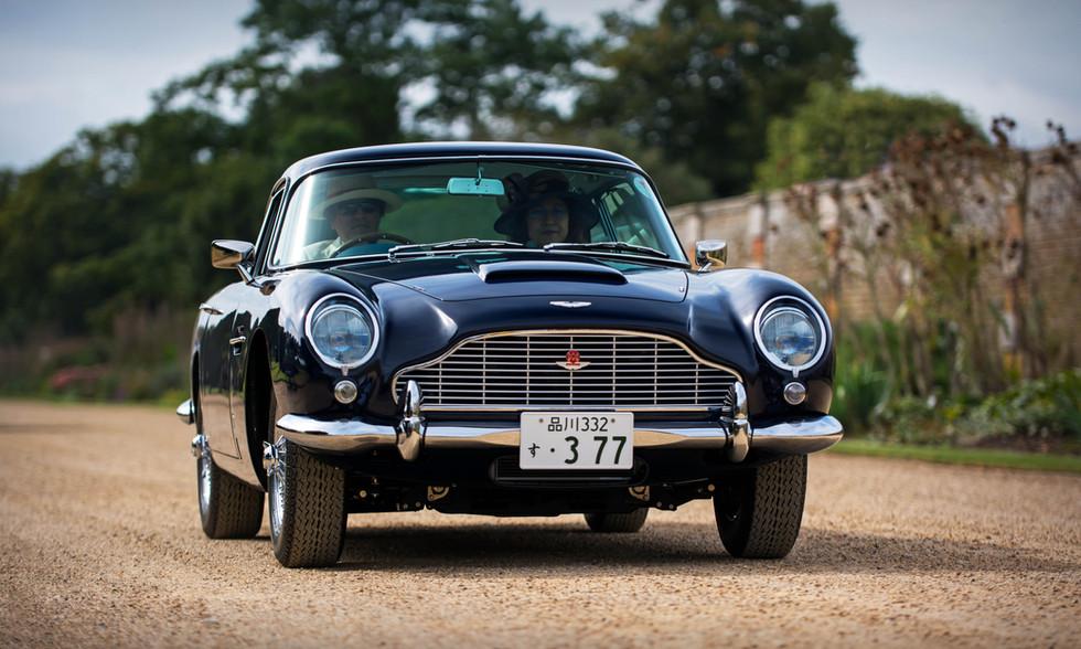 Yuki Hayashi's 1964 Aston Martin DB5