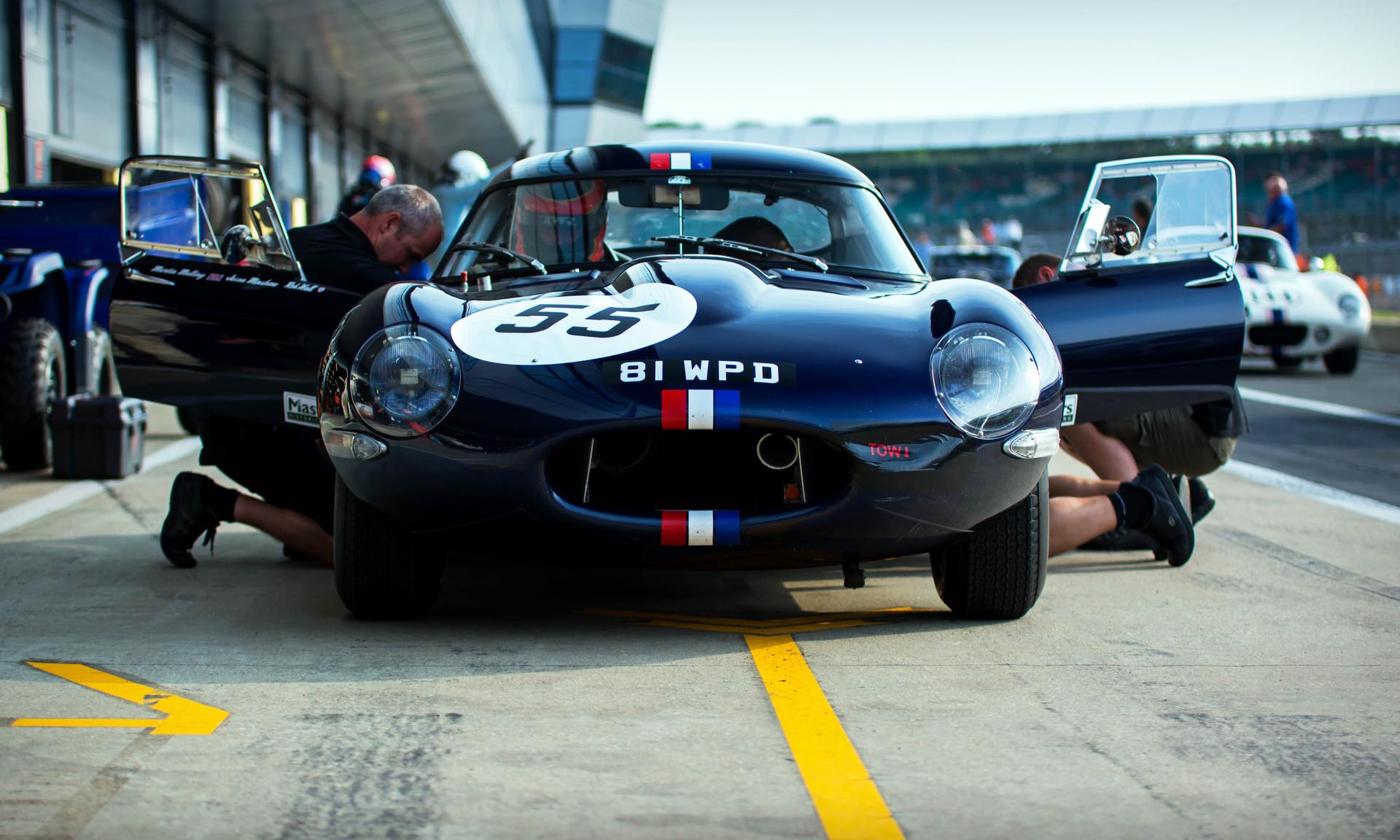 Martin Melling & Jason Minshaw's 1961 Jaguar E-type