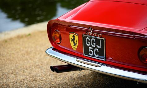 John & Jeannette Corrie's 1965 Ferrari 2