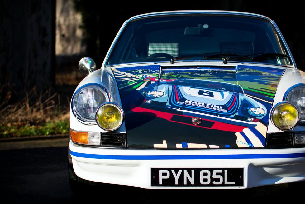 Tim Layzell liveried Porsche 911