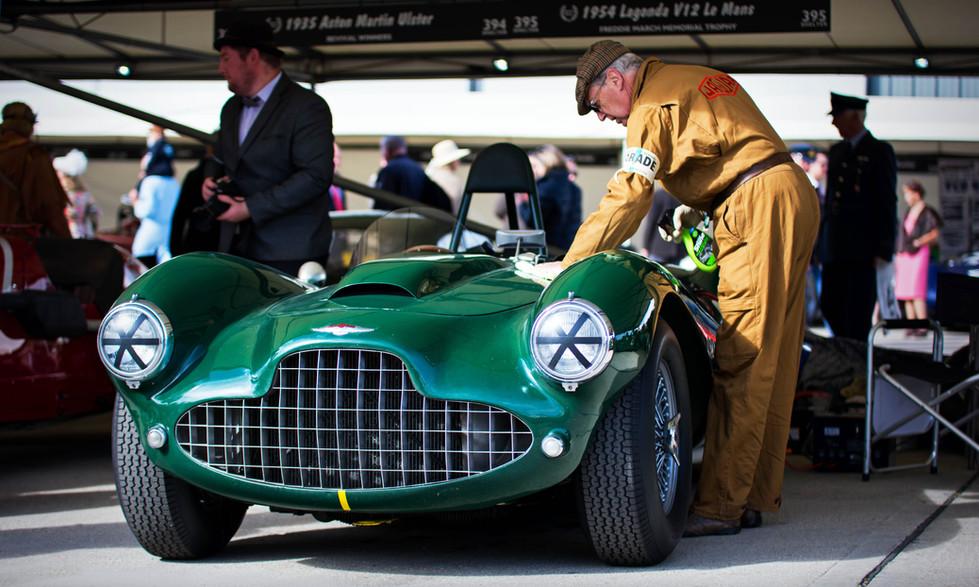 Darren McWhirter's 1954 Lagonda V12 Le Mans