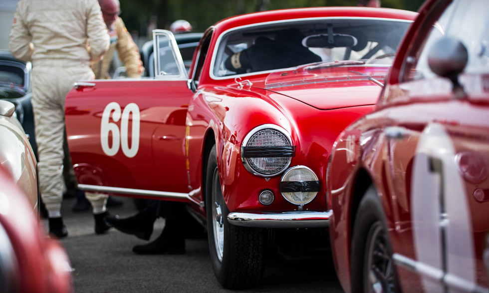 RMTR & Bo Williams' 1955 Ferrari 250 GT Europa