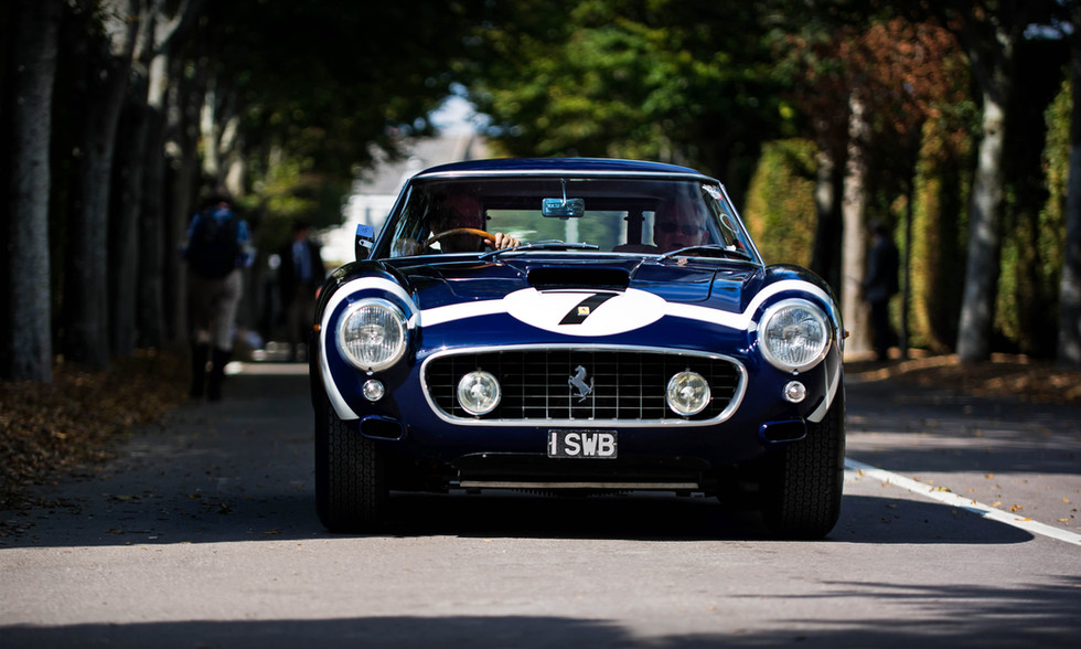 Clive Beecham's 1961 Rob Walker Ferrari 250 GT SWB/C