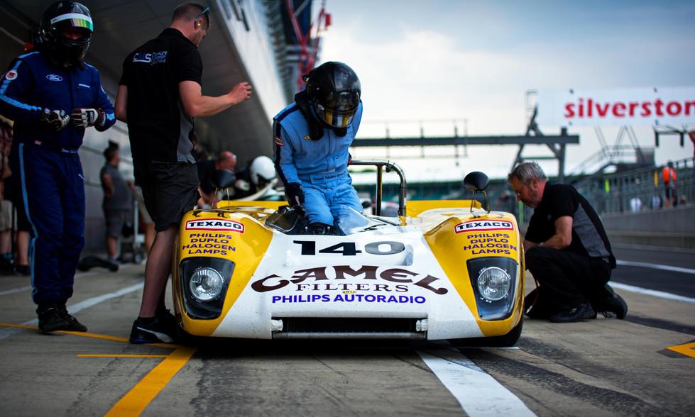 Goncalo Gomes & James Claridge's 1971 Lola T212