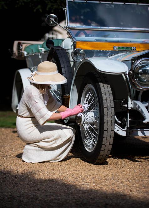 Katie Forrest's 1912 Rolls-Royce Silver