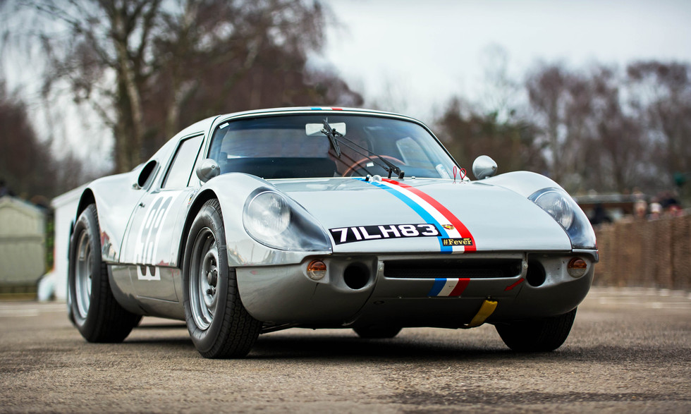 Phil Hylander & James Cottingham's 1964 Porsche 904 Carrera GTS at the Goodwood 76MM