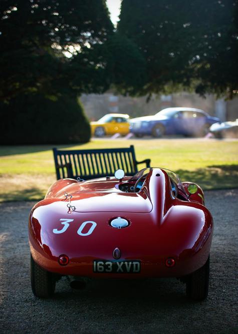 Paul Hobden's 1954 Ferrari 500 Mondial a