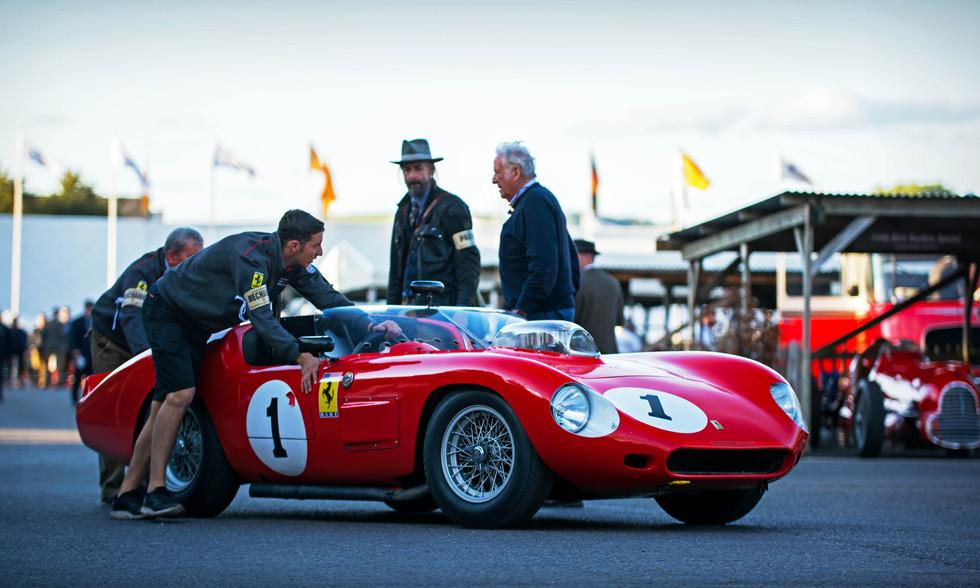 Sam Hancock's 1960 Ferrari 246S Dino