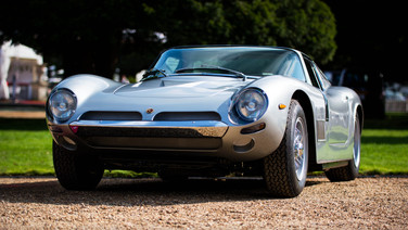 bizzarrini 5300 gt strada at the hampton court concours
