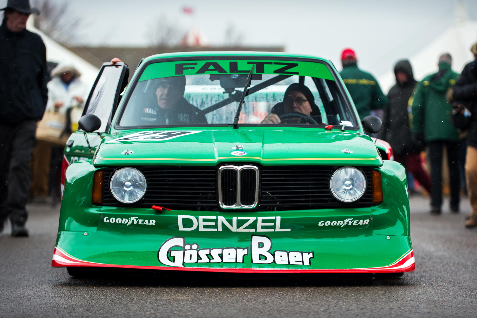 K-G Almstrom's 1978 BMW 320 Group 5 at the Goodwood 76MM