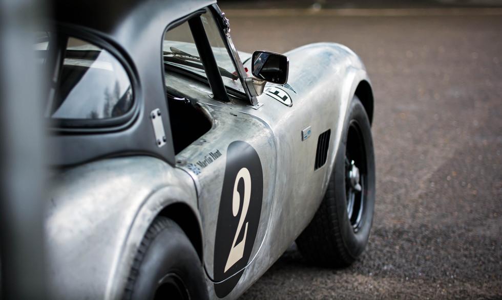 Martin Hunt's 1963 AC Cobra at the Goodwood 76MM