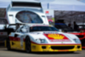 Steven Read's 1995 Ferrari F40 GTE at th