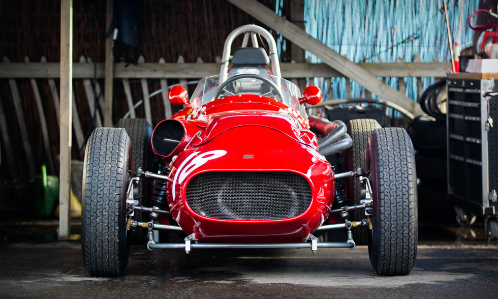 Tony Wood's 1959 Tecnica Meccanica - Maserati at the 2017 Goodwood Revival