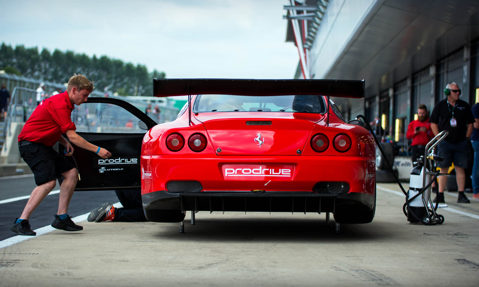 James Cottingham's Ferrari 550 GT1