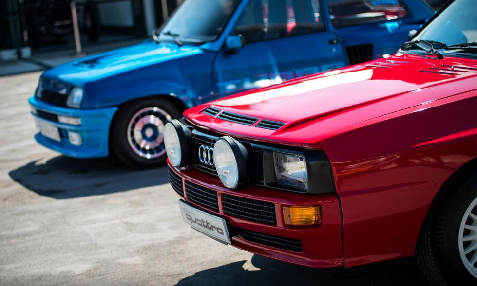 Audi Sport Quattro & Renault 5 Turbo