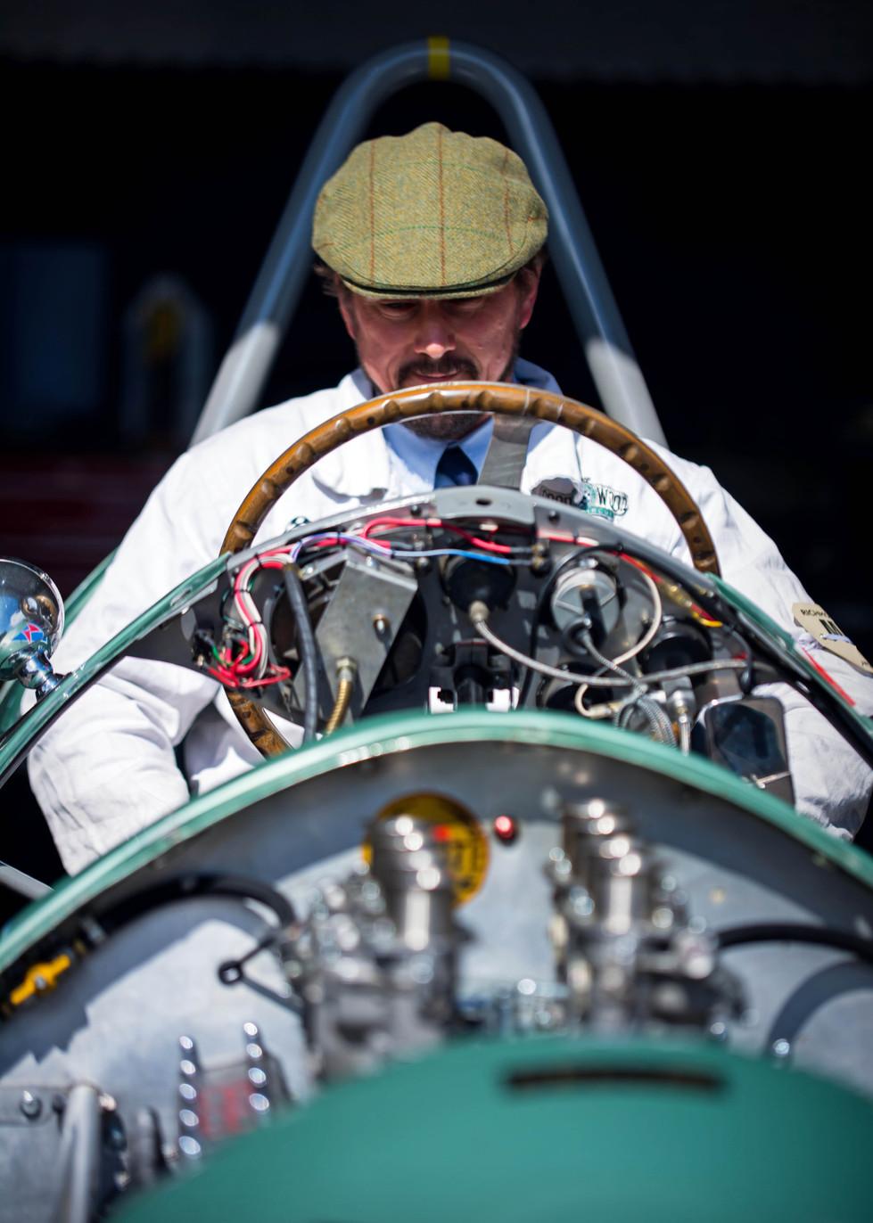 Nigel Batchelor's 1954 Kieft Climax GP