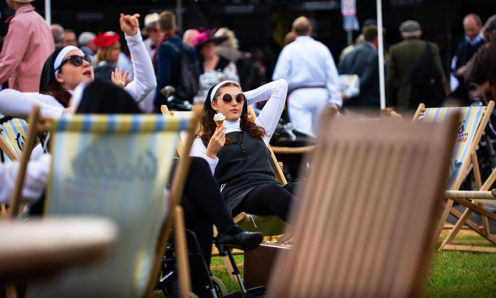 Nuns in the sun