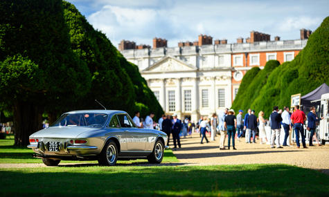 Ferrari 365 GTC at the 2020 Hampton Cour