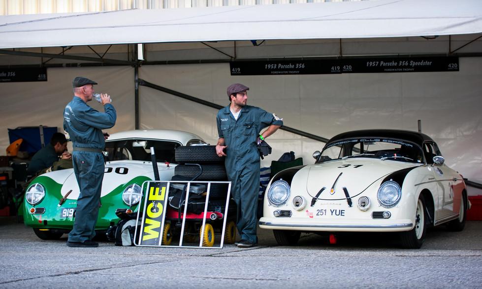 Alex de Regeuro's 1957 Porsche 356 Speedster